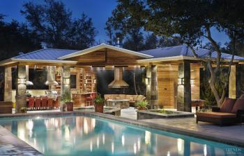 Alfresco lifestyle by CG&S Design-Build