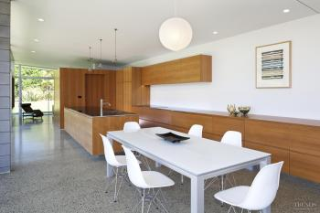 Sympathetic kitchen design to Desert Modern home. Image: 5