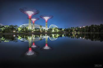 The sky's the limit – Gardens by the Bay