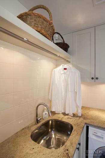 Clean, crisp laundry by designer Kira Gray
