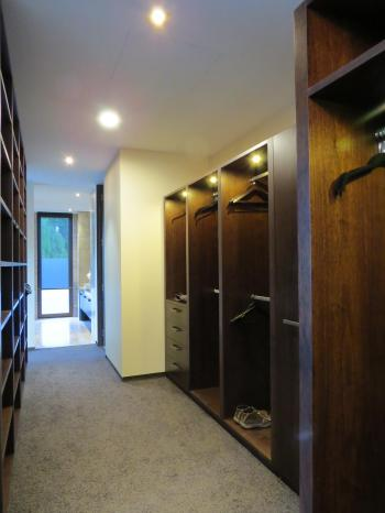 Walk in wardrobe lighting - Queenstown. Image: 10