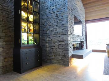 Cabinet and fireplace lighting - Queenstown. Image: 11