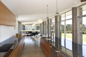 In keeping – sympathetic kitchen design to Desert Modern home