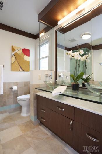 Oasis-themed bathroom