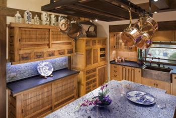 Eastern treasure trove traditional japanese kitchen by for Japanese traditional kitchen design