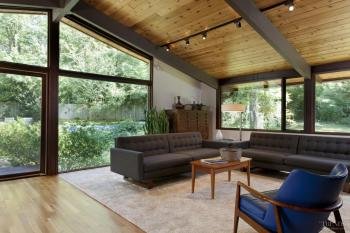 Nature study – post-and-beam house remodel