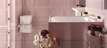 In the pink – new VibrAcoustic tub technology from Kohler