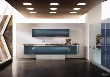 Cuisine bleu  50 suggestions de décoration  designmagfr