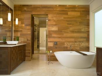 Feel good factor – harmonious spa-like remodeled bathroom by Doug Weiss. Image: 1