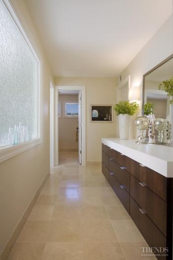 Each to their own – A single bathroom becomes two in this remodel by John Idstrom AIA