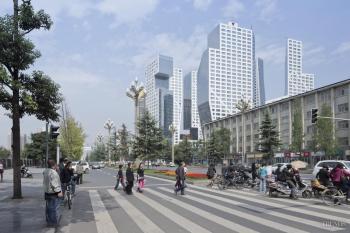 Shapeshifters – Sliced Porosity Block in Chengdu