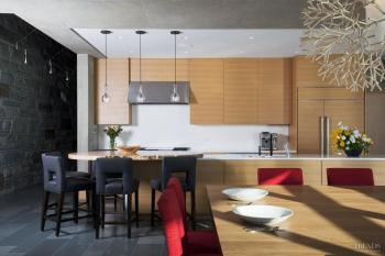 Close to nature - refined contemporary kitchen by Rasmussen Architects