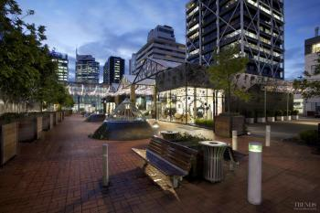 Urban garden – Britomart precinct by Cheshire Architects