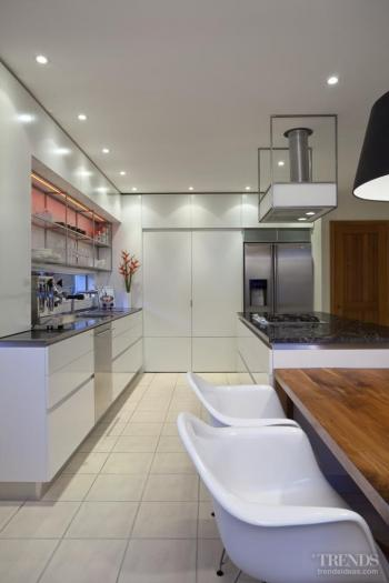 Balanced menu – revamped kitchen with fresh aesthetic by Shane George