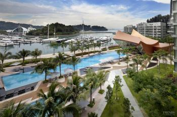 Reflections at Keppel Bay – waterfront development by Daniel Libeskind