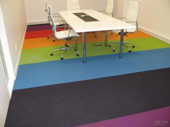 Dressed for the occasion – Floorspace carpet tiles