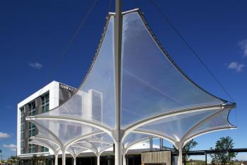 High profile – Structurflex membrane canopies