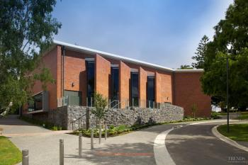 Gathered together – Sacred Heart College Performing Arts Centre by Ebert Construction