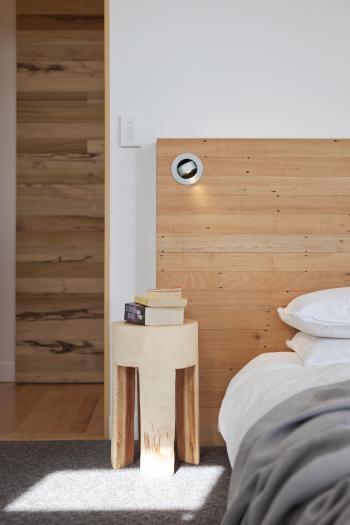 Bedroom lighting design by Sophia Cogswell. Image: 16