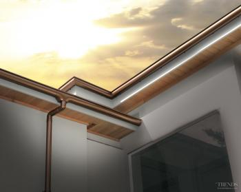Touch the sky with designer spouting and downpipes from Marley