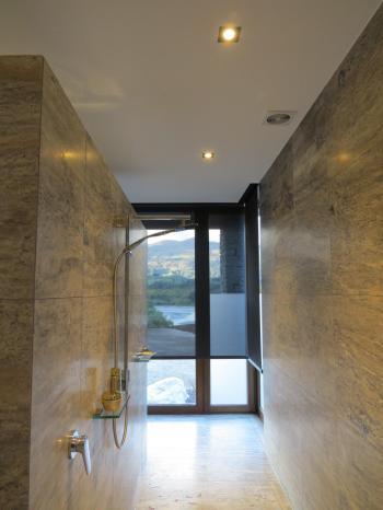 Shower area - Queenstown. Image: 2