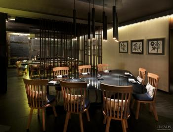 With a Japanese flavour - Traditional meets modern in Japanese restaurant by Blu Water Studio