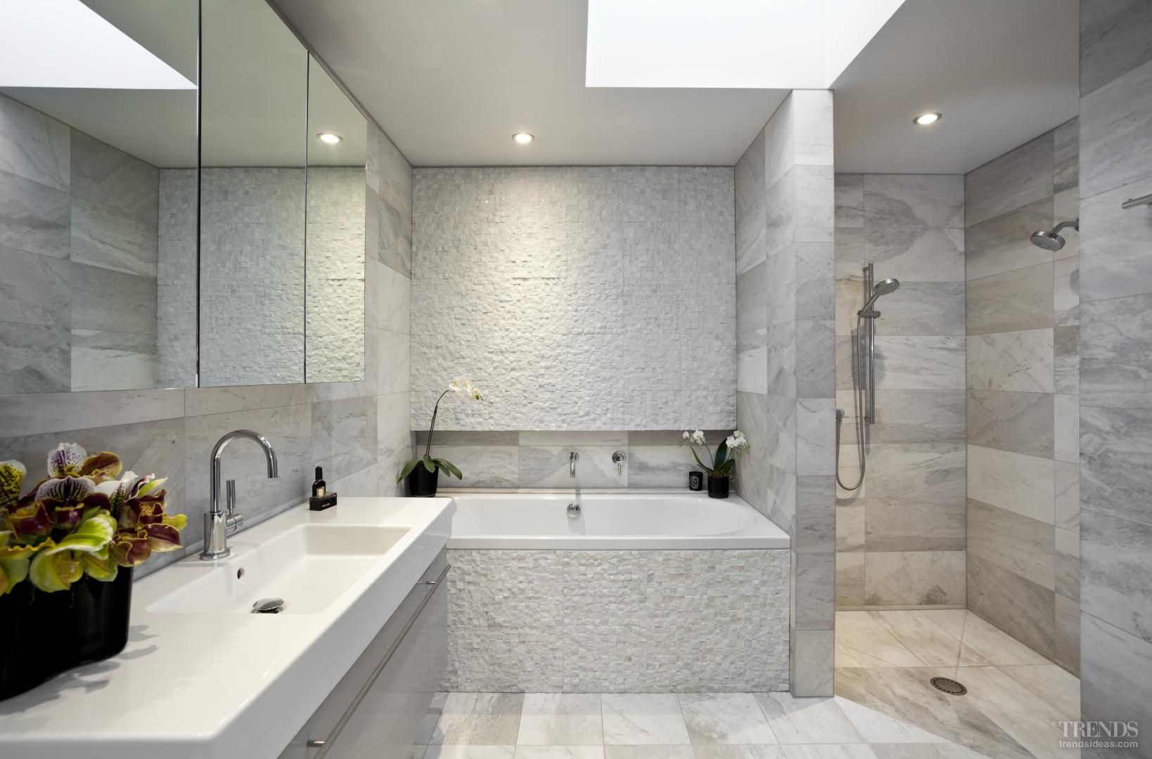 Tranquil Bathroom Designers Call Subdued Tranquil Bathroom Renovation By Fiona Wilson