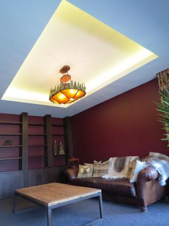Living room lighting - Queenstown. Image: 1