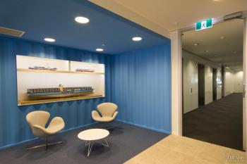 Transported – Maersk Line fit-out by Siren Design