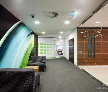 Three into one - Fit-out of corporate headquarters iiNet by interior design company Valmont