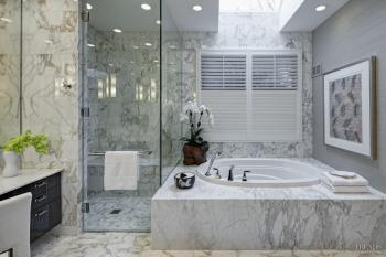 Silver lining – new bathroom by Handman Associates