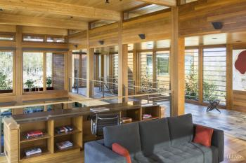 Married to the land – vacation home by Architects Dirk Danker and Jim Nagle