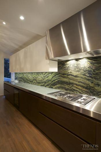 Among the trees – kitchen by Morgan Cronin