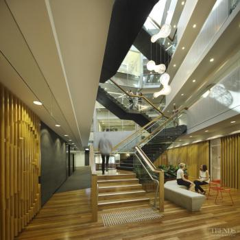 Sense of community – Energex office fit-out