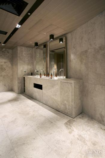Character strengths – ANZ marble tile surfaces from The Tile People