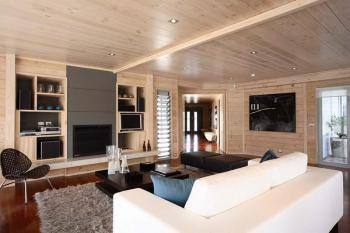 Interior spaces in Lockwood homes. Image: 15