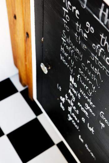 Resene Blackboard Paint. Image: 1