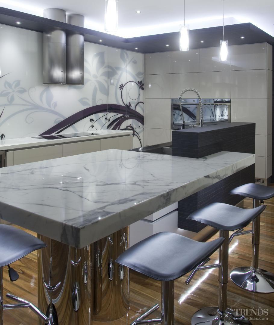 winning formula   sleek state of the art kitchen