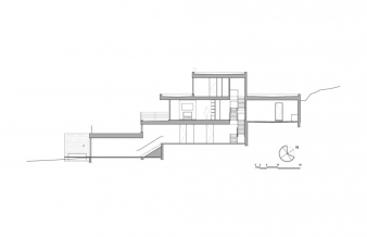 Estrade Residence – cross section