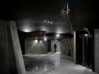 The future of cinema is now – here – in this sculptural fit-out of Meteor Cinema in China
