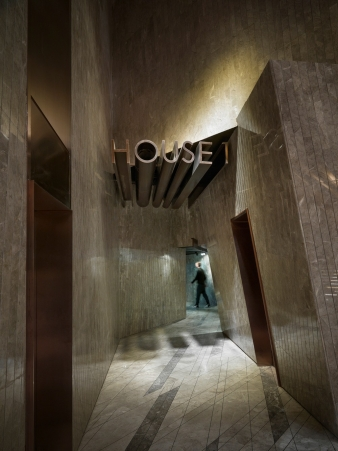 House of angles – part of the out-there interior design for Meteor Cinema in China