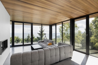 Breathtaking views from the second floor living room