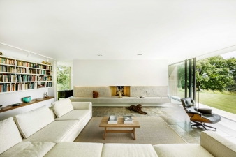 The open plan living area at The Quest by Ström Architects