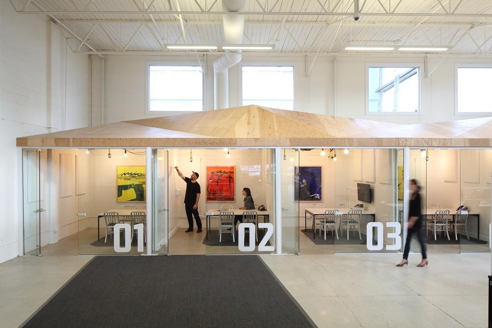 Innovative Interior Design Steps Up Tech Firm Startup