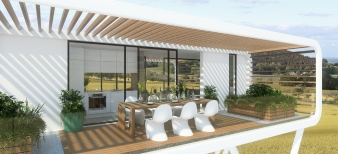 The Coodo has a range of potential applications: as a space for smart business solutions, an exclusive garden lounge, an innovative showroom or a luxury weekend residence