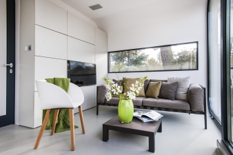Living area in a Coodo
