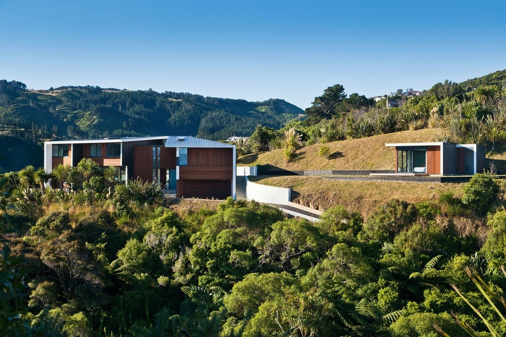 Wind deflecter for Landscape architects wellington