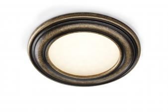 DOMUS Line™ Passepartout LED Spotlight - Antique Bronze Finish. Image: 3