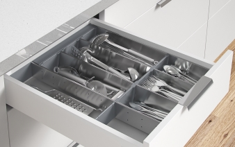 Superbly Organised Cutlery Drawers with Impala Inoxa. Image: 3