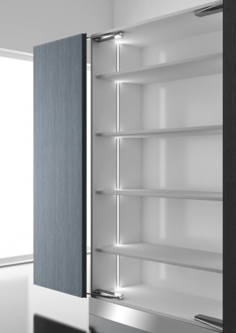 Diva LED Lighting Profile. Aluminium Finish. Recessed Installation.. Image: 11